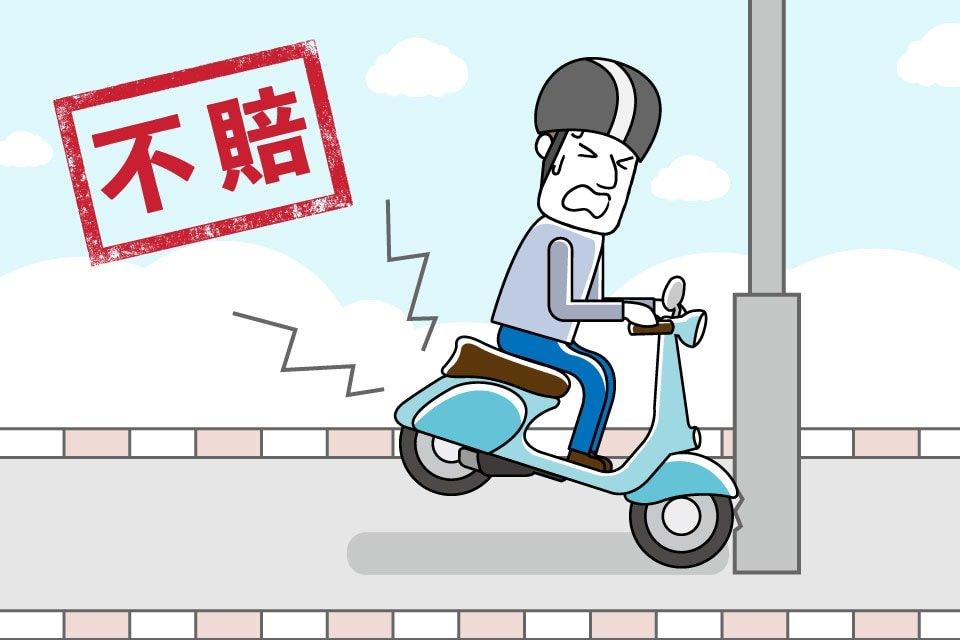強制險不理賠範圍-自撞